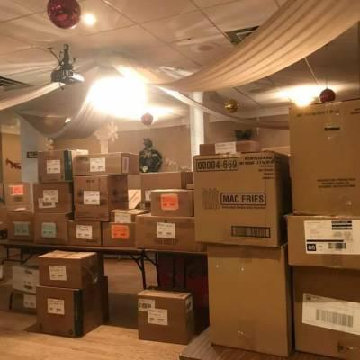 Food Collection For Christmas Cheer